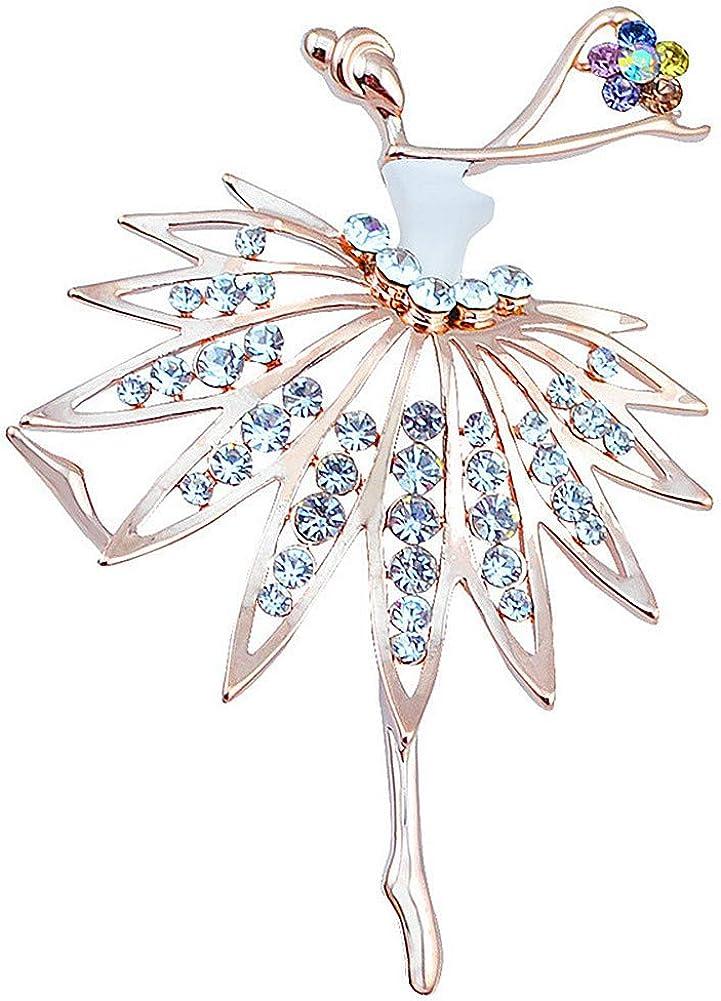 brooches for Max 90% OFF women,la shop luen Cute Brooch Jewelry dance Rhines