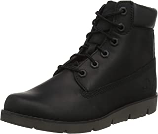 Timberland Youth Radford 6'' Side Zip Leather Boots