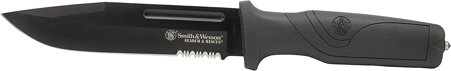 Smith  Wesson 8in High Carbon S.S. Spring Assisted Folding Knif