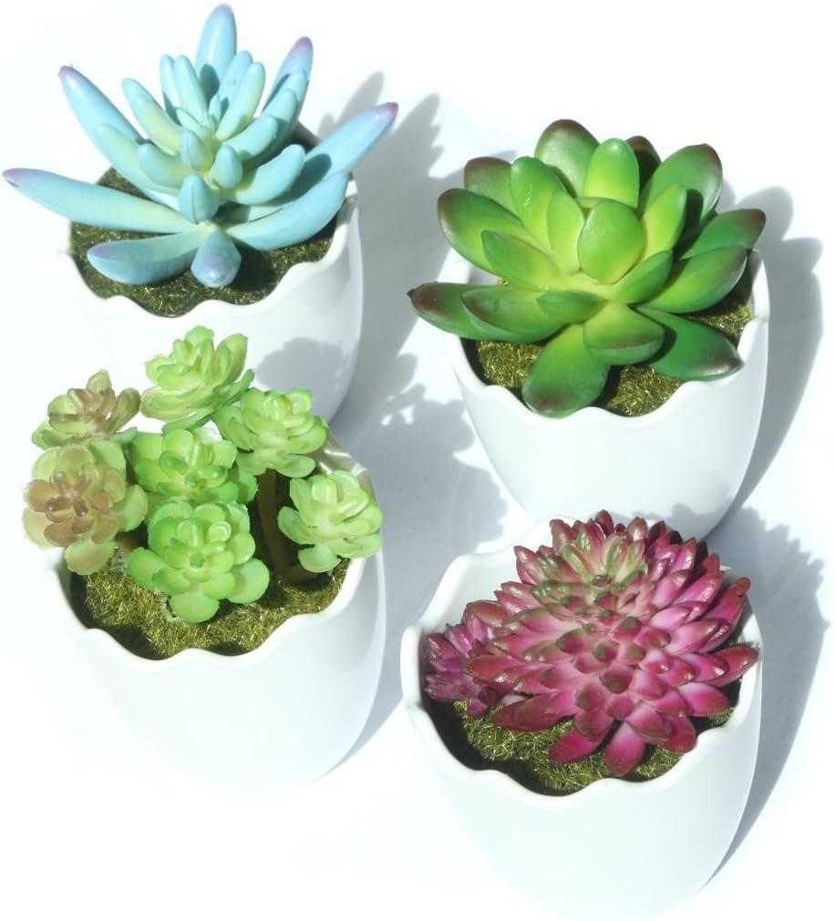 Myartte Artificial Succulent Clearance SALE Limited time Plants Max 48% OFF Fake Faux Pl Succulents Mini