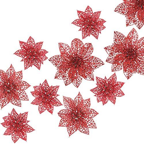 Navidad Decoración Arbol Flores Marca Naler