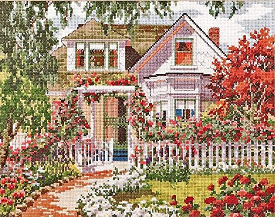 Summer Symphony - Bucilla Counted Cross-Stitch Kit #40925