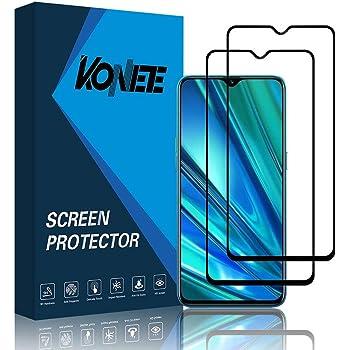 KONEE Protector de Pantalla Compatible con Realme 5 Pro, 【2 ...