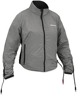 Firstgear 90-Watt Warm and Safe Women's Grey Heated Jacket Liner, L