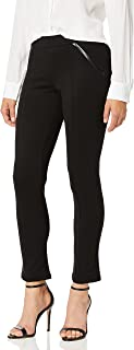 Rafaella womens Rafaella Women's Petite Ponte Comfort Fit Slim Leg Pants Pants
