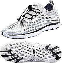 Zhuanglin Women's Quick Drying Aqua Water Shoes,Lightgrey,7 B(M) US