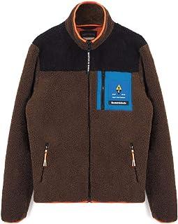 Scotch & Soda, Fleece Jacket, Brown, S&S_158818 0217