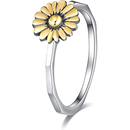 Flower Ring,925 Sterling Silver Ring,Silver Flower Ring,Knuckle Ring,Minimalist Ring,Rings For Women,Dainty Rings,Couple Rings,Gift Rings