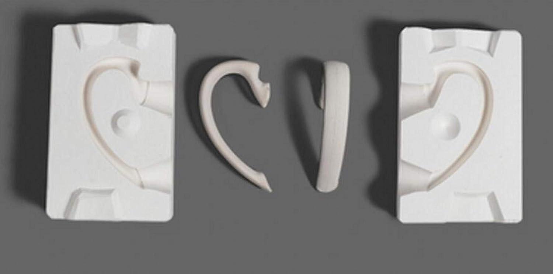 WellieSTR Superior 1 Set Mini 3D Plaster Nashville-Davidson Mall Molds Handle Tea Cup Pot Ceramic