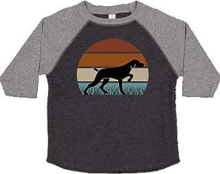 inktastic Hunting Dog Retro Sunset Toddler T-Shirt