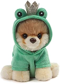 GUND World's Cutest Dog Boo Itty Bitty Boo #048 Frog Prince Stuffed Animal Plush, 5