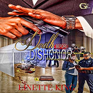 Death Before Dishonor audiobook cover art