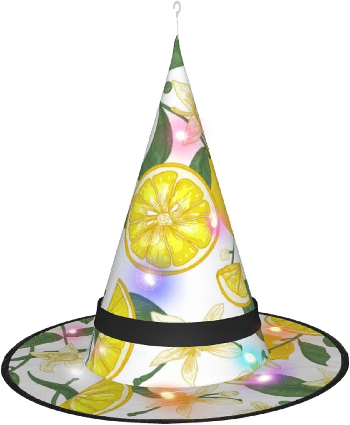 AJUNJUNPAI Lemon Blossom Leaves Halloween Hat Tucson Mall Baltimore Mall Glowing Colourful
