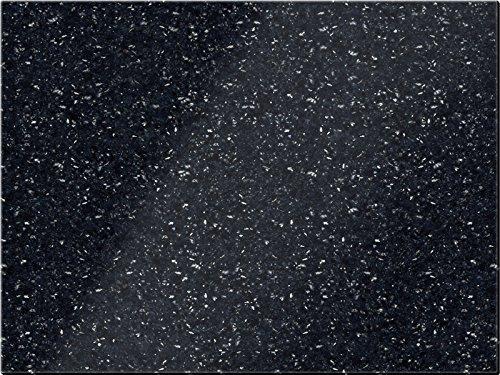 Creative Tops 5129902 natürlich polierter Granit Schneidebrett, Schwarz, 30 x 40 cm