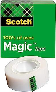 Scotch MagicTape, 3/4 Inch X 36 Yards