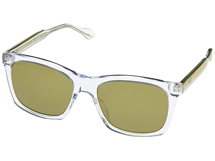 Gucci  GG0558S (Crystal) Fashion Sunglasses