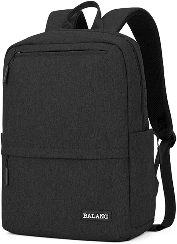 Herren Laptop Rucksack Für 15,6 Zoll Reiseruckscke Mode Schultasche Für Jungen Und Mdchen Unisex schwarz 15 Inches