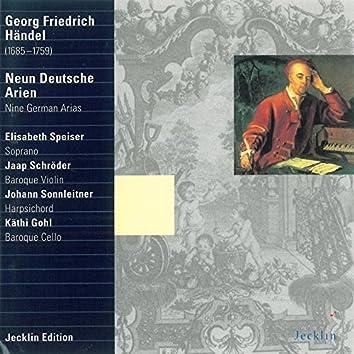 Georg Friedrich Händel: Neun deutsche Arien