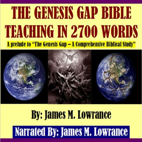 The Genesis Gap Bible Teaching in 2700 Words audiobook cover art