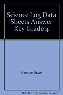 harcourt science grade 4 answer key