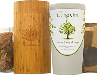The Living Urn Bio Urn and Planting System for People. Grow a Living Memory Tree, Plant, or Flowers from The Ashes of a Loved One. 100% Biodegradable (This Version Does not Come with a Tree Seedling)