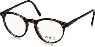 Polo Men's PH2083 Eyeglasses Shiny Dark Havana 48mm