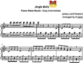 Jingle Bells - Piano Sheet: Piano Solo (Christmas Piano Sheet Music Book 1)