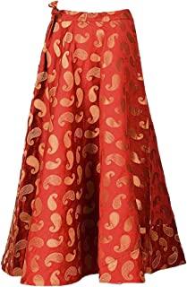 Women's Umbrella Cut Traditional Lehenga/Skirt for Party/Festival Function,