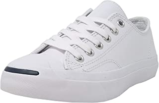 7c81ea8ddd94 Converse Jack Purcell Synthetic Leather White Shoes Unisex Shoes Men Women  (4.5 Men