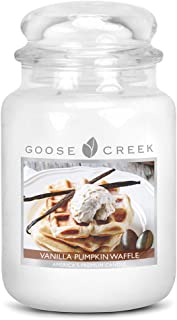 Goose Creek Vanilla Pumpkin Waffle Essential Jar Candle, 24 oz