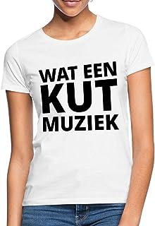 Spreadshirt Wat Een Kut Muziek Koningsdag Feestje Vrouwen T-shirt
