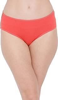 Clovia Women's Cotton Mid Waist Outer Elastic Hipster Panty