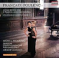 フランセ&プーランク:2台のピアノのための協奏曲 他