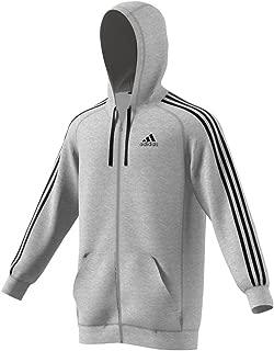 adidas Men's Essentials Fleece Full Zip Hoodie