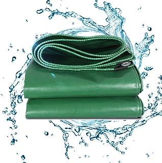 BAOFI Lonas Impermeables Exterior 4x6, 17mil PVC al Aire Libre Lona Rain Exo con Ojales