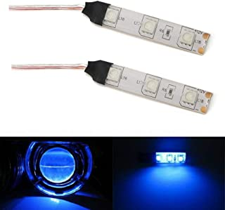 iJDMTOY Ultra Blue Devil Demon Eye LED Strips Modules For Projector Headlights Retrofit