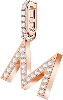 Swarovski 5434395 Remix Collection Charm M, Bianco, Placcato Oro Rosa