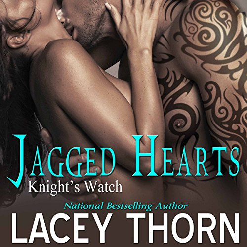 Jagged Hearts audiobook cover art