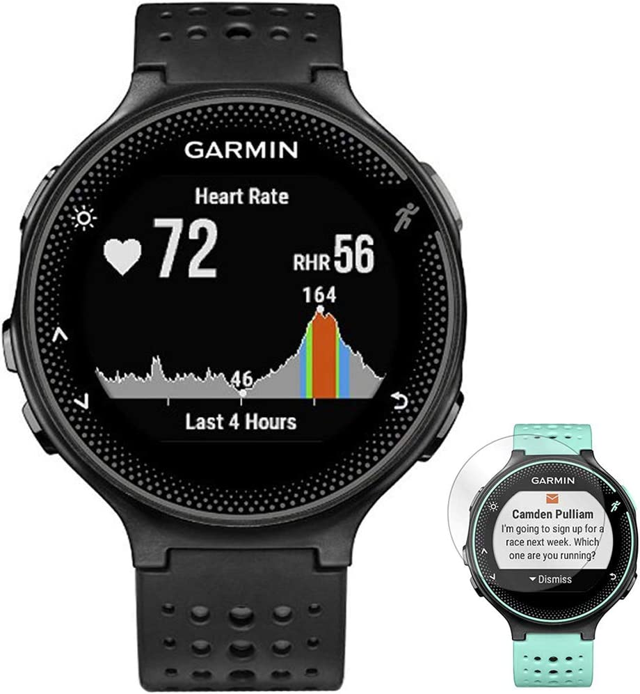 Original Garmin Forerunner 235 Back Cover Housing TEAL Heart Rate Monitor Part