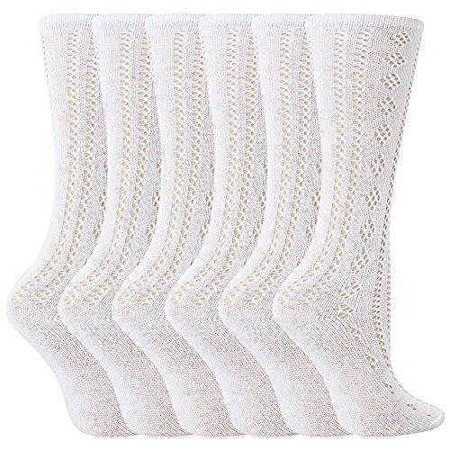 Pelerine Mädchen Socken kniehoch Größe 27-30 Eu (4-6 Jahre) (6 Paar)