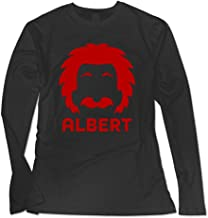 Albert Einstein Reality Is Merely An Illusion Women T Shirts Graphic T Shirts Long Sleeves