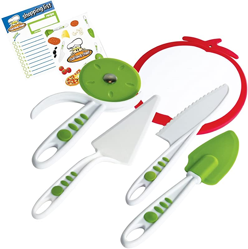 Curious Chef 5 Piece Pizza Kit