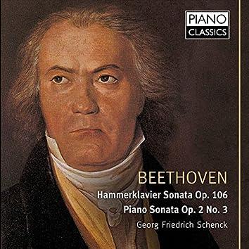 Beethoven Hammerklavier Sonata, Op. 106, Piano Sonata, Op. 2 No. 3