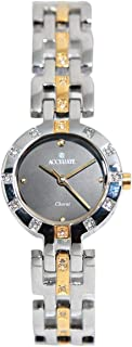 Casual Watch for Women by Accurate, Gold, Round, ALQ352S