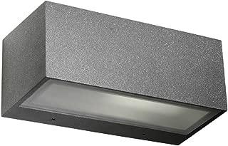 Forlight Kapa Escalera exterior LED para arriba y abajo de pared de luz urbana gris 945lm 3000K IP54