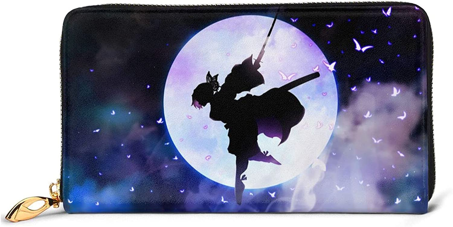 Free shipping Anime Demon Slayer Leather Wallet Sale SALE% OFF Men Minimalist Wallets Wom For