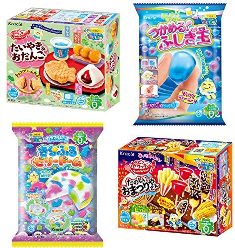 Kracie Popin Cookin DIY Candy Set 4 Kits Fun...