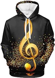 QueenMMUnisex 3D Novelty Hoodies Graphic Patterns Print Hoodies Pullover Sweatshirt Pockets Christmas Halloween