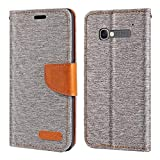 Alcatel One Touch POP C5 Case, Oxford Leather Wallet Case