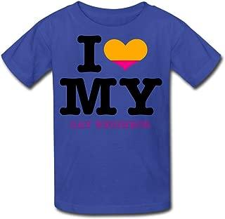 JWZT-KN kid's I Heart My Gay Neighbor Eps T-shirt